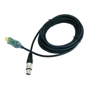 Кабель аудио XLR - USB ProAudio XLR1F-USB 3.0m