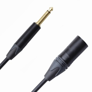 Кабель аудио 1xJack - 1xXLR Rich Pro RP262BLK 2.0m