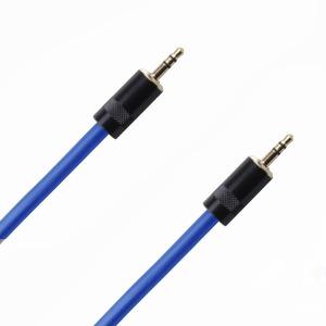 Кабель аудио 1xMini Jack - 1xMini Jack Rich Pro RP331BLU 0.5m