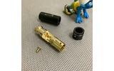 Разъем RCA (Папа) DYNAVOX RCA Plug White (206067)