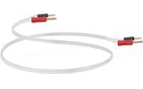 Акустический кабель Single-Wire Banana - Banana QED (QE1432) Silver Anniversary XT Airloc banana 3.0m