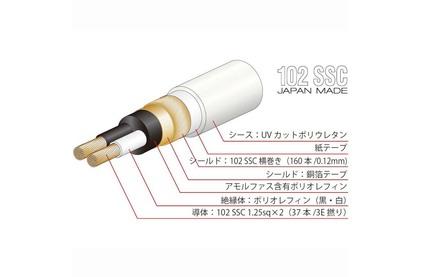 Кабель аудио 2xRCA - 2xRCA Oyaide Tunami TERZO RR V2 1.3m
