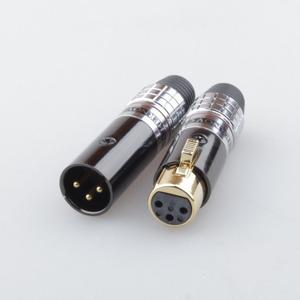 Разъем XLR (Комплект) Tchernov Cable XLR Plug Classic V2 Red (2 штуки)