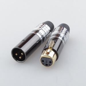 Разъем XLR (Комплект) Tchernov Cable XLR Plug Classic V2 White (2 штуки)