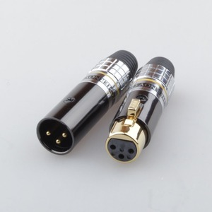 Разъем XLR (Комплект) Tchernov Cable XLR Plug Classic V2 Yellow (2 штуки)