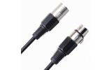 Кабель аудио 1xXLR - 1xXLR Rich Pro RP100BLK 45.0m