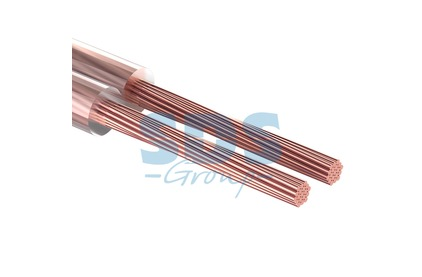 Отрезок акустического кабеля Rexant (арт. 2144) 01-6308 2x2.5 мм2 SILICON 5.0m