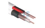 Отрезок кабеля витая пара Rexant (арт. 2167) 01-4003 ККСВ + 2х0.5мм. белый 5.0m
