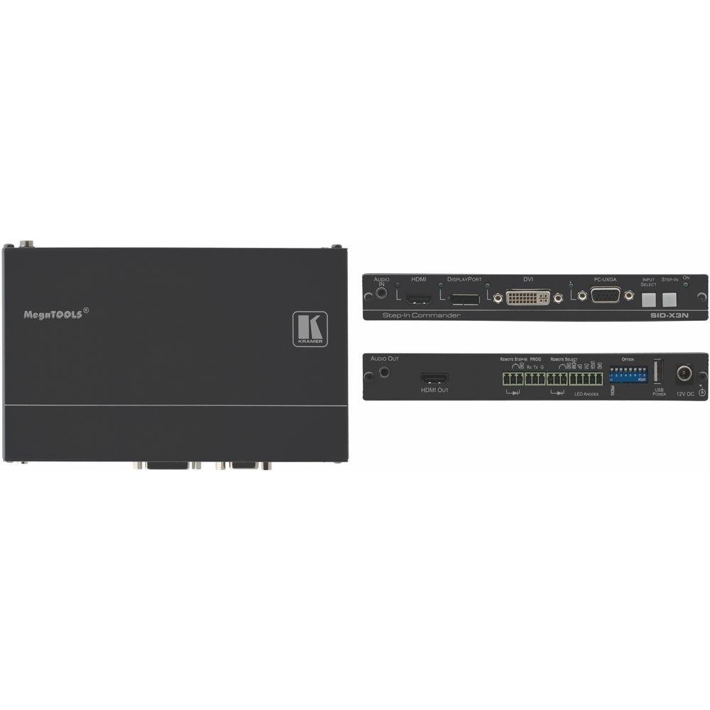 Лицевая панель черного цвета для SID-X3N Kramer SID-X3NBP