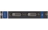 Плата c 2 входами DVI с HDCP для коммутатора Kramer HDCP-IN2-F16/STANDALONE