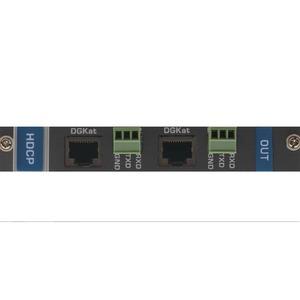Выходная плата с 2 портами DGKat и RS-232 для коммутатора Kramer DGKAT-OUT2-F16/STANDALONE