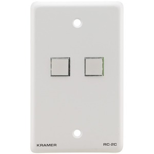 Установочная панель управления Kramer RC-2C/US(W)