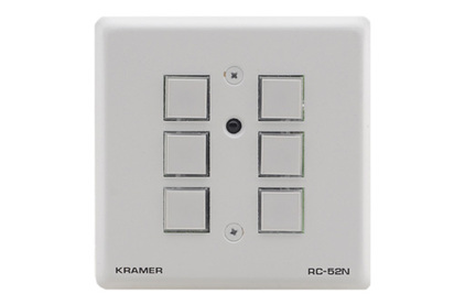 Установочная панель управления Kramer RC-52N/EU-86(W)