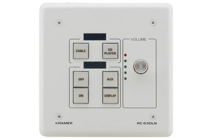 Панель управления Kramer RC-63DLN(W)