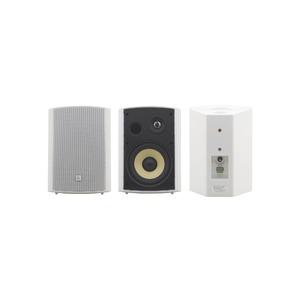 Пара акустических систем настенной установки, с трансформатором Kramer Yarden 6-O White