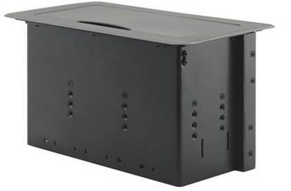 Модуль встраиваемый с убирающейся крышкой Kramer TBUS-6XL(BC)