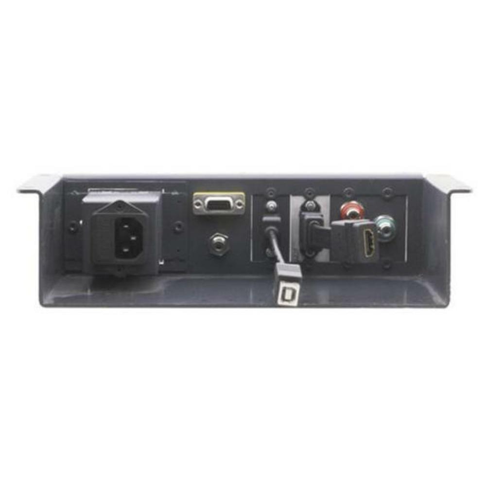 Модуль кабельных подключений, устанавливаемый под столешницей Kramer UTBUS-1XL