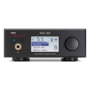 ЦАП транзисторный Weiss DAC202DSD Black