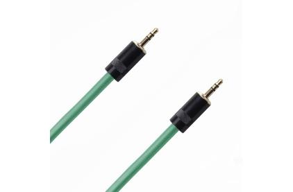 Кабель аудио 1xMini Jack - 1xMini Jack Rich Pro RP331GRN 1.0m