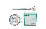 Отрезок кабеля витая пара Hyperline (арт. 2527) FTP4-C5E-SOLID-GY 4.3m