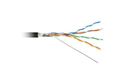Отрезок акустического кабеля Hyperline (арт. 2602) FTP4-C5E-SOLID-OUTDOOR-40 10.7m