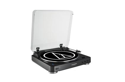 Проигрыватель виниловых дисков Audio-Technica AT-LP60BT BK
