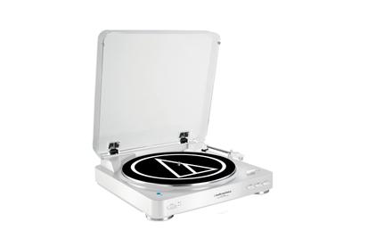 Виниловый проигрыватель Audio-Technica AT-LP60BT WH