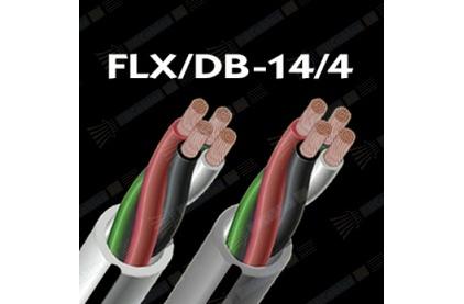 Отрезок акустического кабеля Audioquest (арт. 2758) FLX/DB-14/4 Grey 2.83m