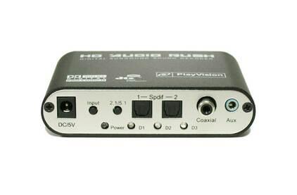 Преобразователь Цифровое аудио Dr.HD 005004046 CA 32 DAR
