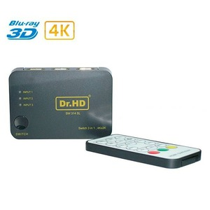 HDMI переключатель 3x1 Dr.HD 005006021 SW 314 SL