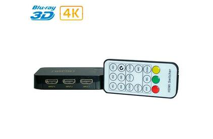 Коммутатор HDMI Dr.HD 005006021 SW 314 SL