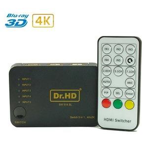 HDMI переключатель 5x1 Dr.HD 005006020 SW 514 SL