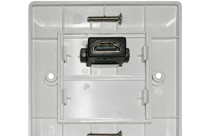 Розетка HDMI Dr.HD 005003022 1xHDMI, квадратная