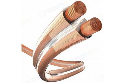 Отрезок акустического кабеля Inakustik (арт. 2844) 004021 Premium Cuprum Transparent 1.5 3.7m