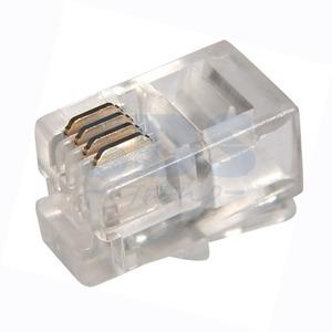 Разъем RJ12 PROconnect 05-1001-3 Джек телефонный 4P4C