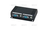 Передача по витой паре KVM (VGA, USB, PS/2, RS-232 и аудио) SC&T VE02ALT