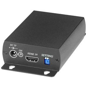 Передача по коаксиальному кабелю HDMI, DVI SC&T SDI02
