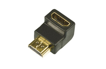 Переходник HDMI - HDMI Lazso APHH10/AA(90)