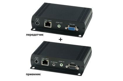 Передача по витой паре VGA SC&T VKM03