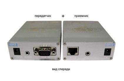 Передача по витой паре VGA Osnovo TA-V/4+RA-V/4