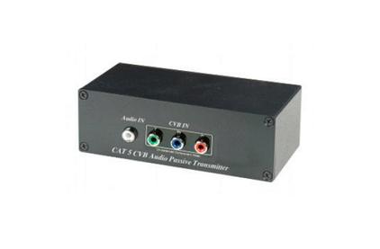 Передача по витой паре Компонентное видео и аудио SC&T YE01D (CV01A)