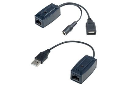 Передача по витой паре USB SC&T UE01