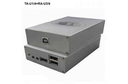 Передача по витой паре USB Osnovo TA-U1/4+RA-U3/4