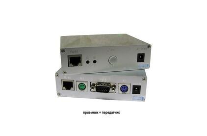 Передача по витой паре VGA Osnovo TA-VKM/6+RA-VKM/6