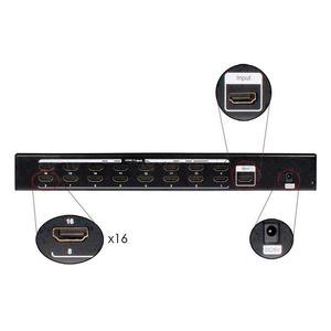 Усилитель-распределитель HDMI Osnovo D-Hi116/1