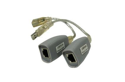 Передача по витой паре USB Osnovo TA-U1/1+RA-U1/1