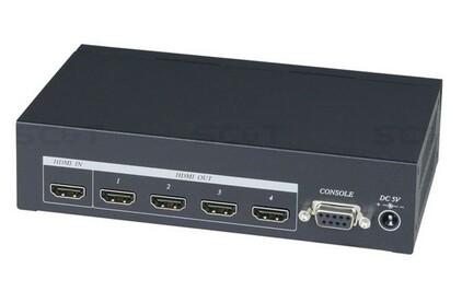 Усилитель-распределитель HDMI SC&T HD04-4K