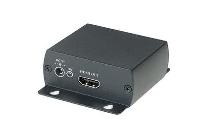 Преобразователь HDMI, аналоговое видео и аудио SC&T HC01