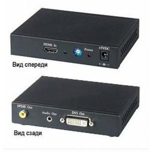 Преобразователь HDMI, DVI и аудио SC&T HD01