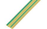 Термоусаживаемая трубка Rexant 20-1507 1.5/0.75мм желто-зеленая (1 штука)